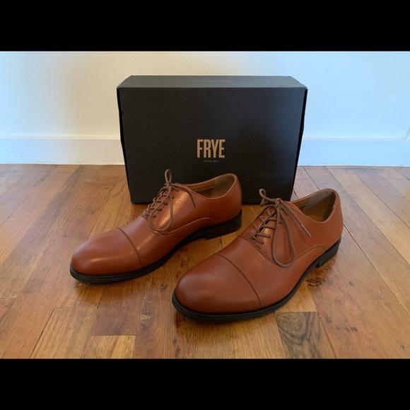 Frye Shoes   Scott Cap Toe Derby   Poshmark